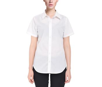 Women's Button Down Short Sleeve Shirt