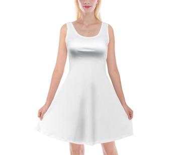 Velvet Sleeveless Flared Dress