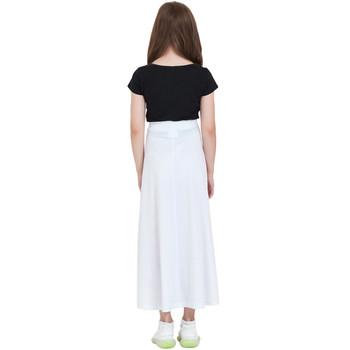Girls' Flared Maxi Skirt