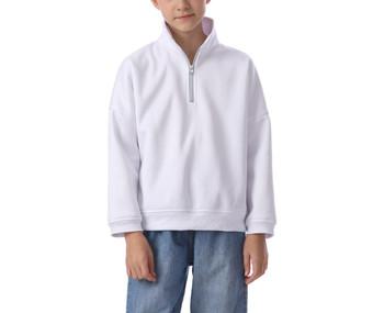 Kids' Half Zip Sweater