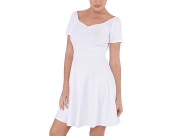 Short Sleeve Bardot Dress