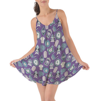 Beach Cover Up Dress - Tomb Sweet Tomb