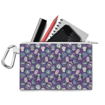 Canvas Zip Pouch - Tomb Sweet Tomb