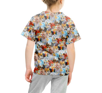 Youth Cotton Blend T-Shirt - Horses of Disney