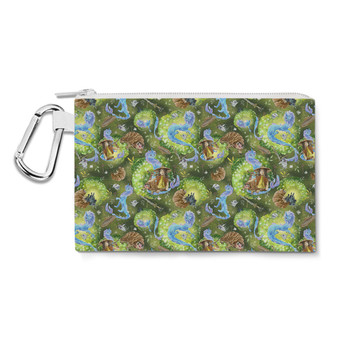Canvas Zip Pouch - Raya And Her Dragon