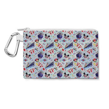 Canvas Zip Pouch - Cruise Disney Style