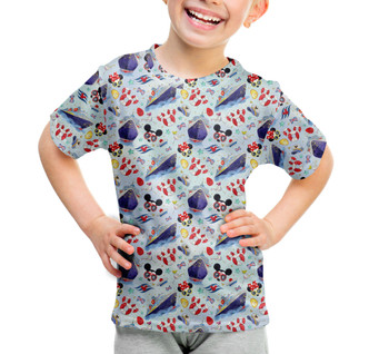Youth Cotton Blend T-Shirt - Cruise Disney Style