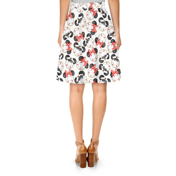 A-Line Skirt - Gone Overboard In White
