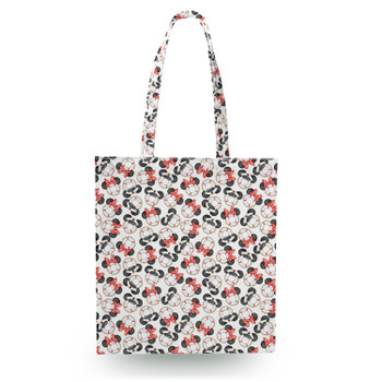 Canvas Tote Bag - Gone Overboard In White