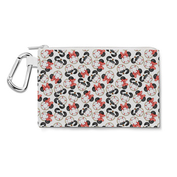 Canvas Zip Pouch - Gone Overboard In White