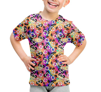 Youth Cotton Blend T-Shirt - Tie Die Gone Overboard