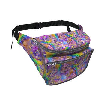 Fanny Pack - Figment Watercolor Rainbow