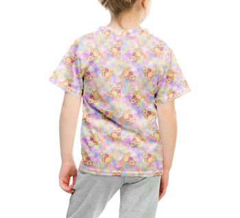 Youth Cotton Blend T-Shirt - Watercolor Pooh Bear