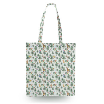Canvas Tote Bag - Christmas Disney Forest