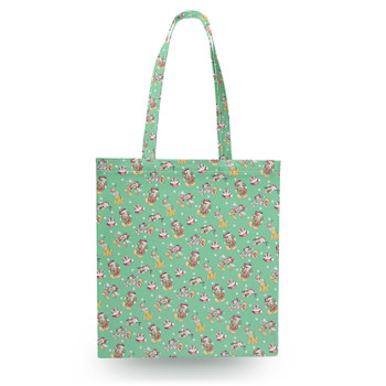 Canvas Tote Bag - Merry Mickey Christmas