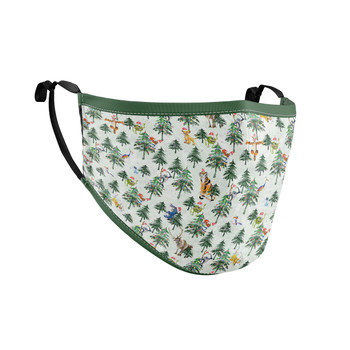 Fitted Face Mask with 50 filters - Christmas Disney Forest