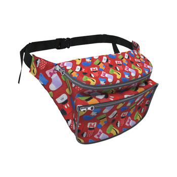 Fanny Pack - Mickey & Friends Christmas Stockings
