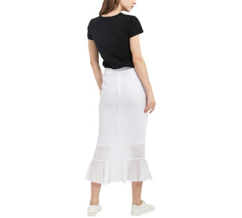 Chiffon Maxi Fishtail Skirt