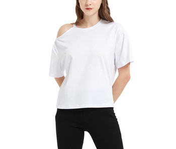 One Shoulder Cut Out Top