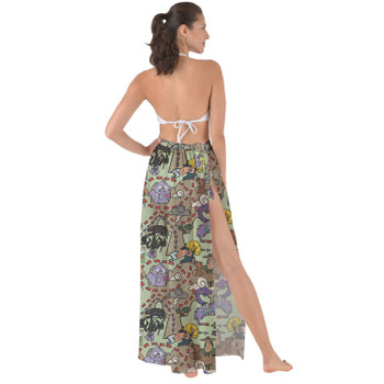 Maxi Sarong Skirt - The Emperor's New Groove Inspired