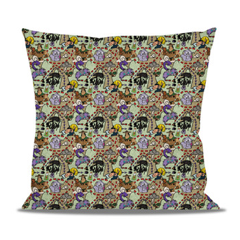 Fleece Cushion - The Emperor's New Groove Inspired