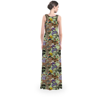 Flared Maxi Dress - The Emperor's New Groove Inspired