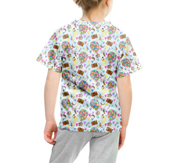 Youth Cotton Blend T-Shirt - Pixar UP Icons
