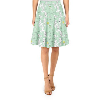 A-Line Skirt - Drawing Tinkerbell