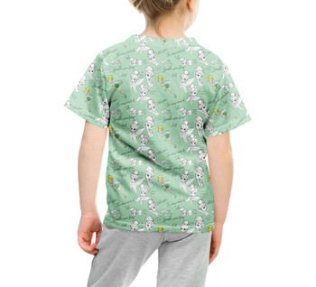 Youth Cotton Blend T-Shirt - Drawing Tinkerbell