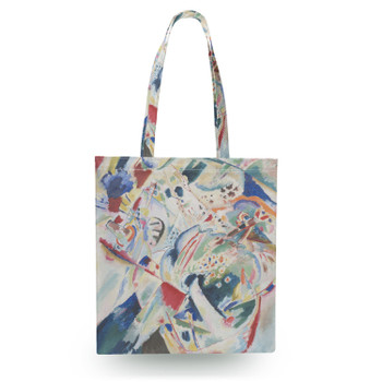 Canvas Tote Bag - Kandinsky Abstract Art Painting