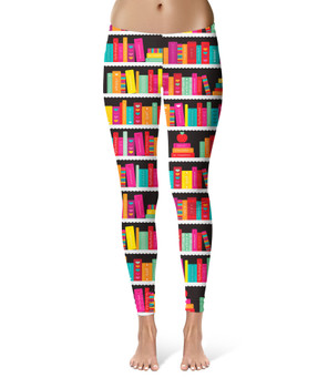 Sport Leggings - Library Book Case
