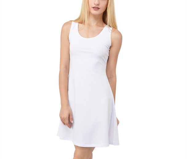 Sleeveless Flared Dress