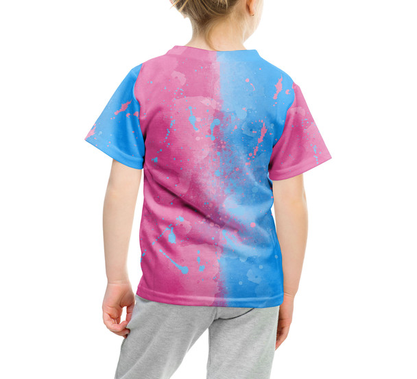 Youth Cotton Blend T-Shirt - Pink or Blue Sleeping Beauty Inspired