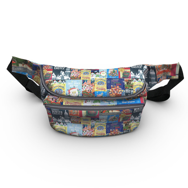 Fanny Pack - Holiday Attraction Posters Disney Parks