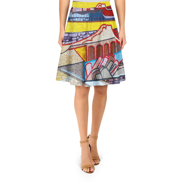 A-Line Skirt - The Mosaic Wall
