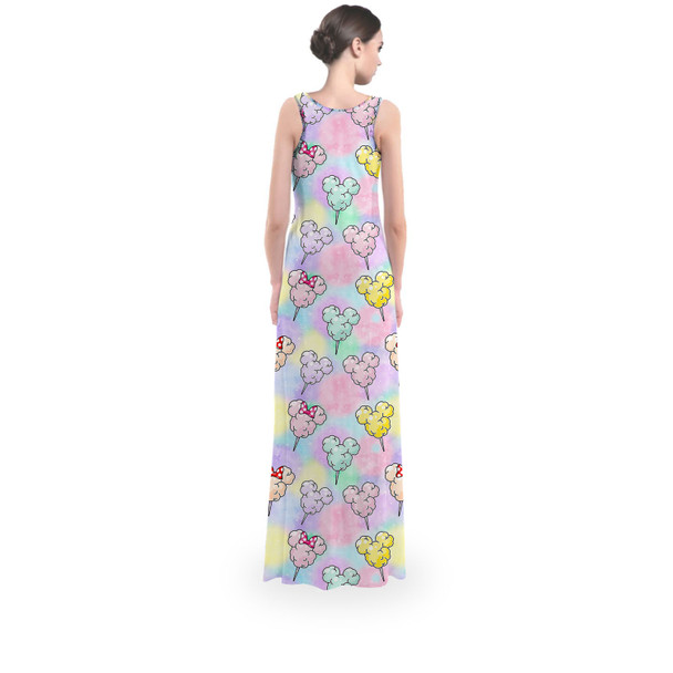 Flared Maxi Dress - Cotton Candy Mouse Ears