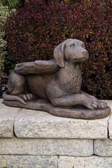 Laydown Guardian Dog Angel