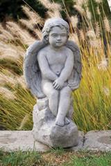 Angel On Rock Large
