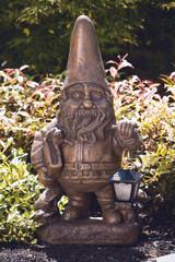 Lantern Gnome with Lantern Large 29 inch
