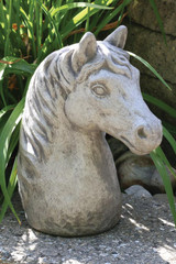 Horse Bust 12 inch