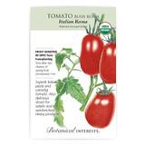 Italian Roma Bush Tomato Seeds Organic Heirloom