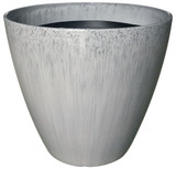 Glazed Ceramic Kurv Planter Quarry - 13 inch