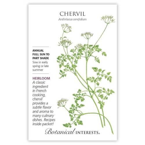 Chervil Seeds Heirloom