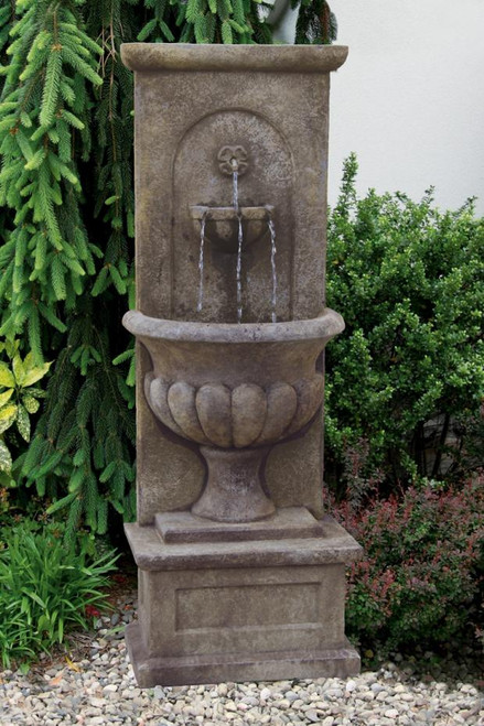 Roman Urn Wall Fountain 66 inch