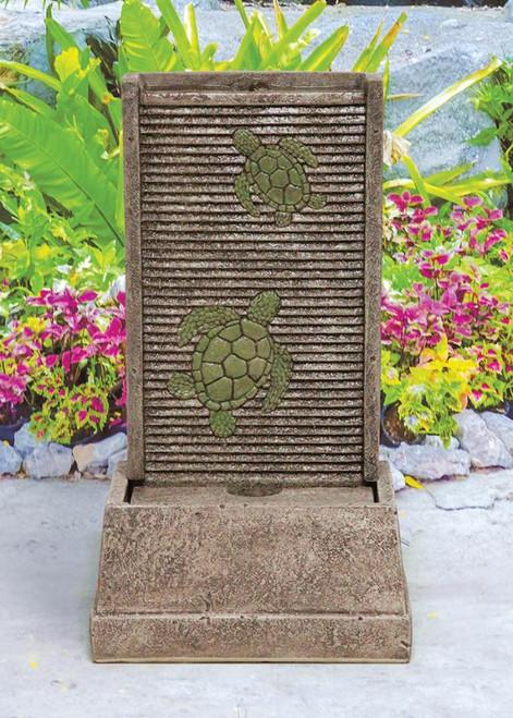 Sea Turtle Wall Fountain