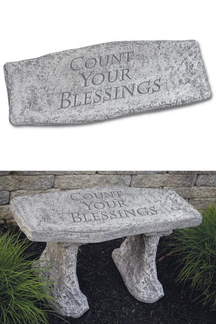 Bench Count Your Blessings