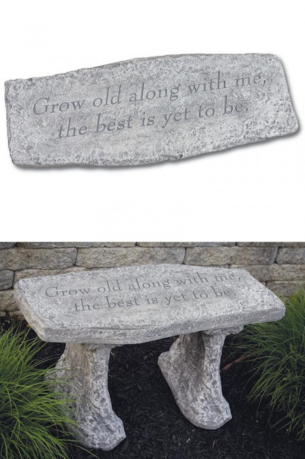 Bench Growith Old Along with  Me