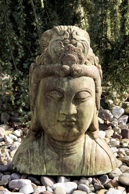 Quan Yin Bust 20 inch