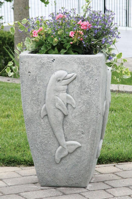 Dolphin Planter 32 inch