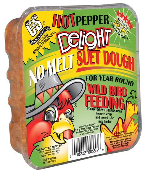 Hot Pepper Delight Suet - 11.75 oz